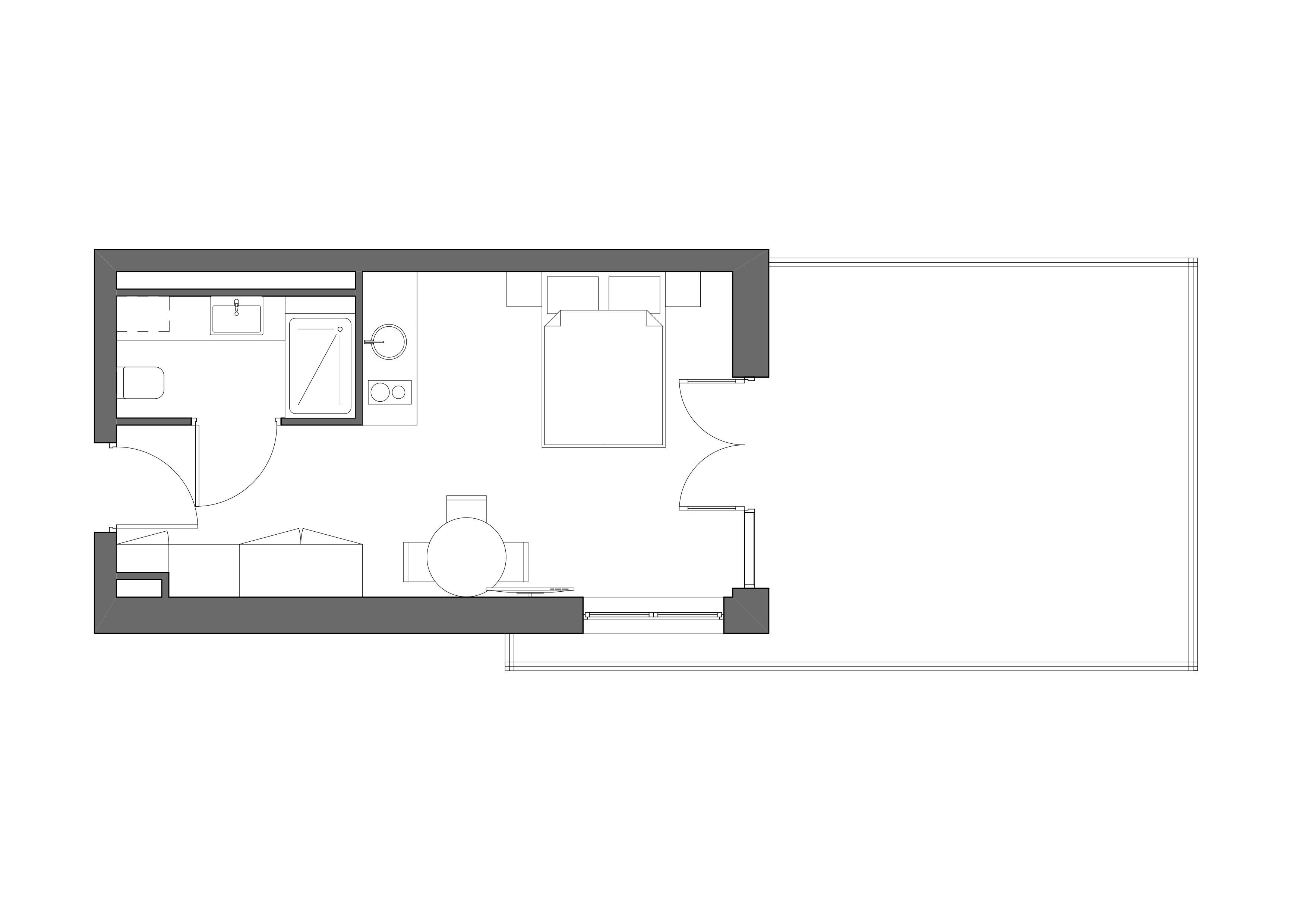 Apartament z tarasem w nowej inwestycji – ApartPark