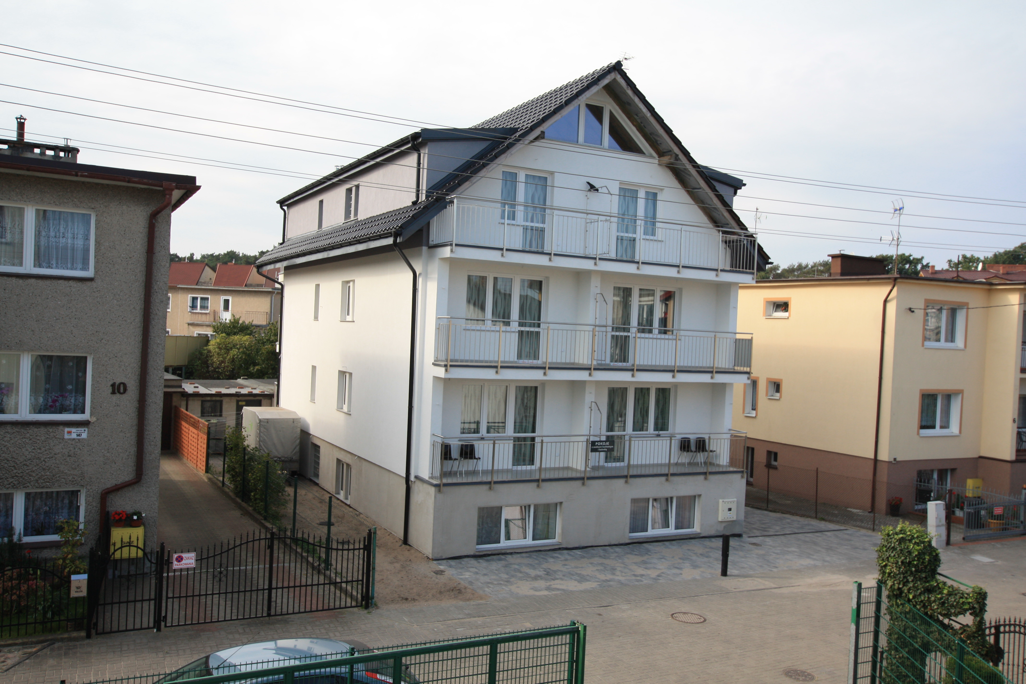 Dom z pokojami gościnnymi w Międzyzdrojach