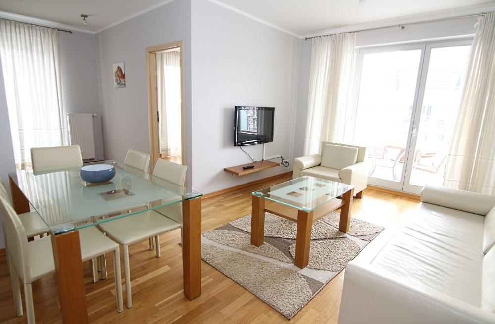 Przestronny 2 pokojowy apartament