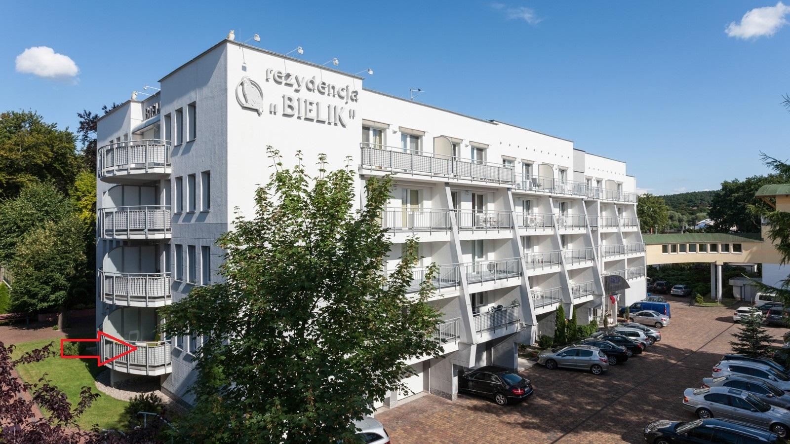 Apartament w Rezydencji Bielik-Międzyzdroje