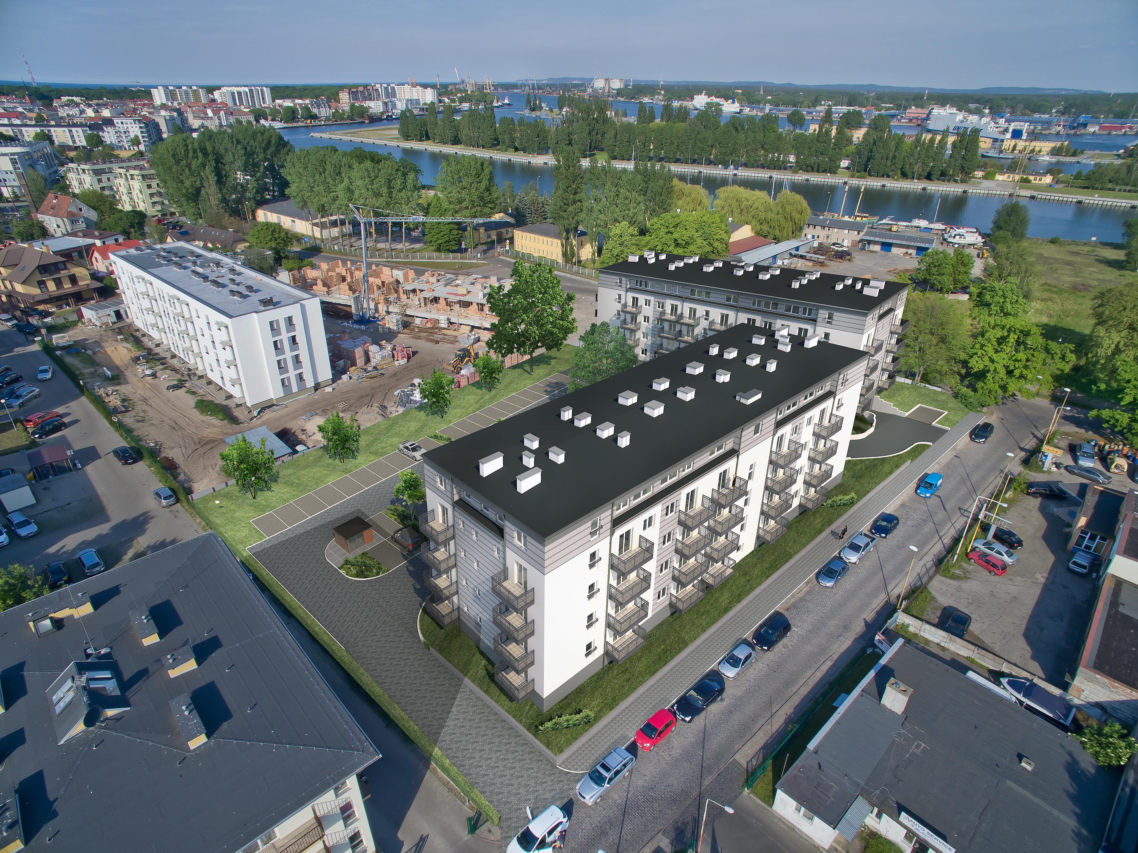 Nowa inwestycja w Świnoujściu – mieszkania 3 – pokojowe (60,8 m2)