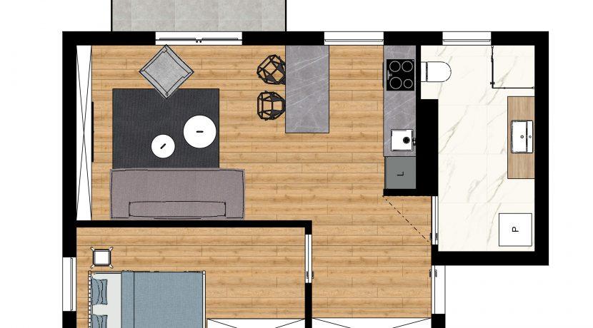 rzut mieszkanie nr3
