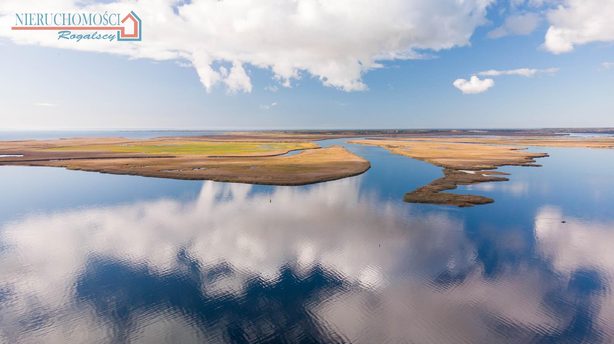 Działka z widokiem na jezioro Wicko Wielkie