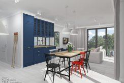 Nowy apartament 2-pokojowy 50 metrów od plaży – REZERWACJA