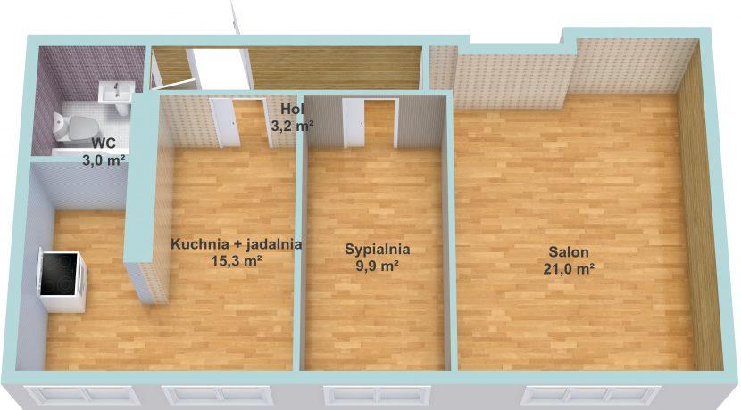 plan pomieszczeć plac Słowiański