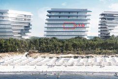 Apartament z bezpośrednim widokiem na morze (7 piętro)